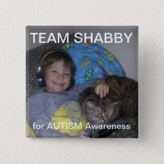 CCLU Team SHABBY 2 Inch Square Button