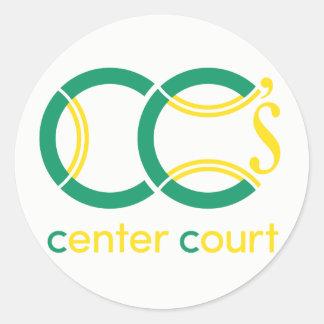 CC's Bat Mitzvah Classic Round Sticker