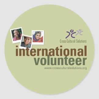 CCS International Volunteer Sticker