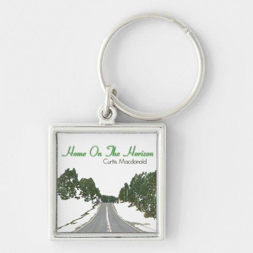 "CD Cover Art ""Home On The Horizon"" Key Chain"