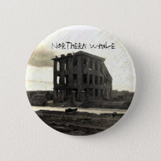 CD COVER, Northern Whale 2 Inch Round Button