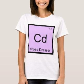 Cd - Cross Dresser Chemistry Element Symbol Tee