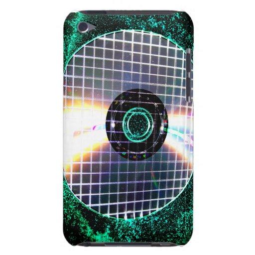 CD déchiqueté de galaxie de disco Coques iPod Case-Mate