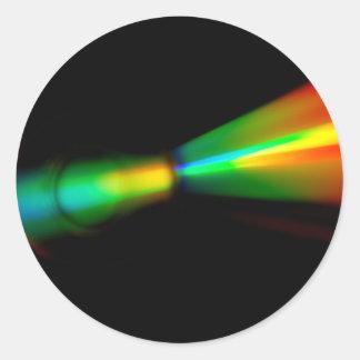CD Detail Classic Round Sticker