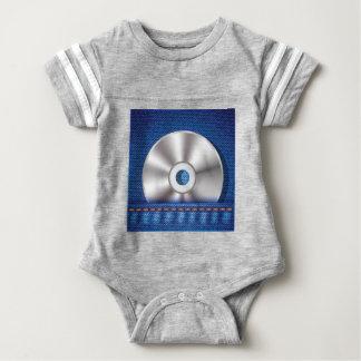 CD Disc Baby Bodysuit