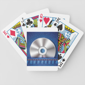 CD Disc Bicycle Playing Cards