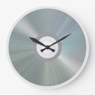 CD/DVD Round Clock