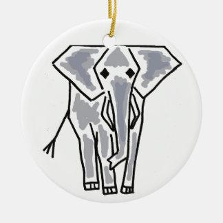 CD- Funky Elephant Cartoon Ornament