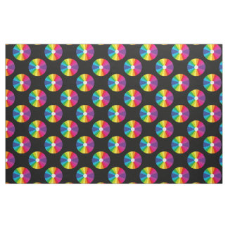 CD Rainbow Pattern Fabric
