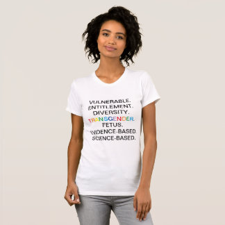 CDC Banned Words T-Shirt