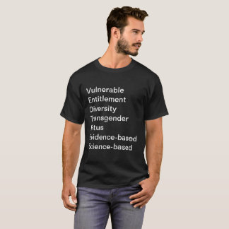 CDC Forbidden Words Tee-Shirt T-Shirt