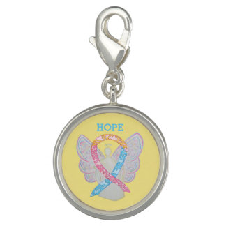 CDH Awareness Ribbon Angel  Bracelet Pendant Charm