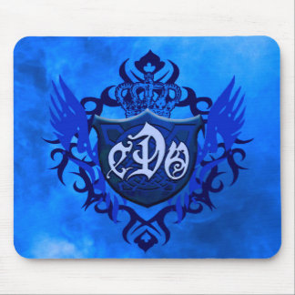 CDO- BLUE FIRE SHIELD-Mouse Pad Mouse Pad