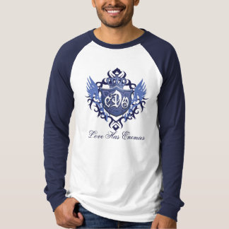 CDO-Shield-Long Sleeve Raglan-Baseball shirt