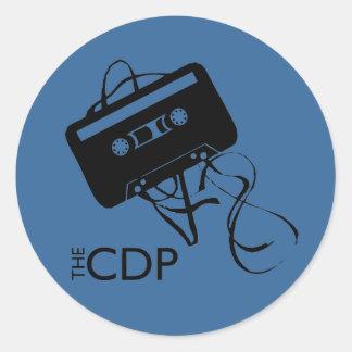 CDP Blue Mix-Tape Sticker