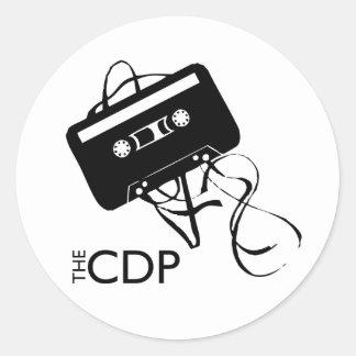 CDP Mix-Tape Sticker