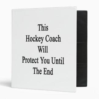 Ce car d'hockey vous protégera jusqu'à l'extrémité