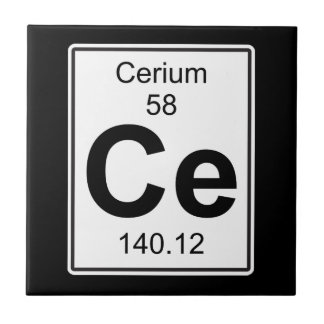Ce - Cerium Tile