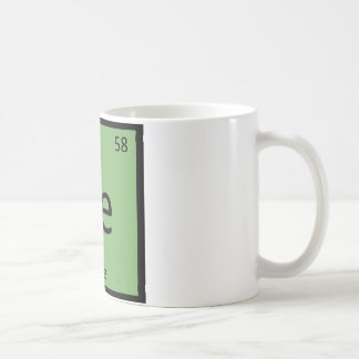 Ce - Chile Vegetable Chemistry Periodic Table Coffee Mug