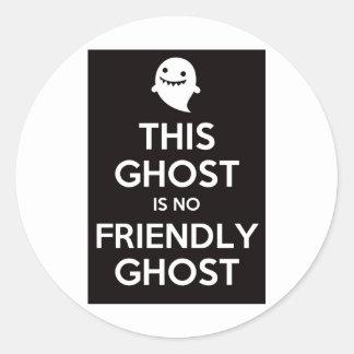 Ce fantôme n'est aucun fantôme amical adhésif rond