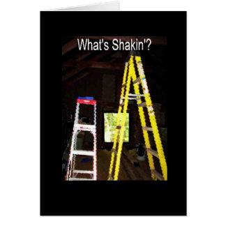 Ce qui est Shakin'? Carte De Vœux