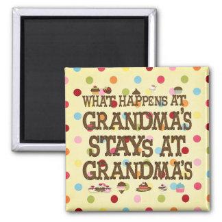 Ce qui se produit aux grand-mamans magnets pour réfrigérateur