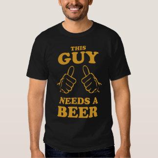 Ce type a besoin d'un T-shirt de bière