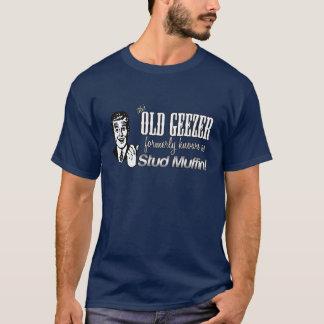 Ce vieux bonhomme cloutent autrefois, vieux type t-shirt
