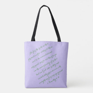 Ceaselessly F Tote Bag