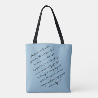 Ceaslessly A Tote Bag
