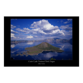Ceater Lake National Park Oregon Poster