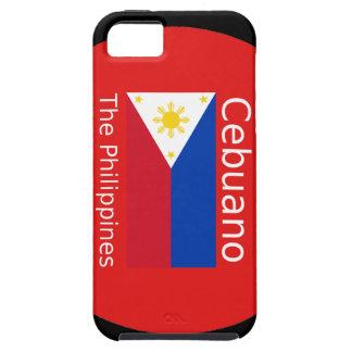 Cebuano Language And Philippines Flag iPhone 5 Case