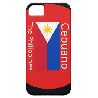 Cebuano Language And Philippines Flag iPhone 5 Cover