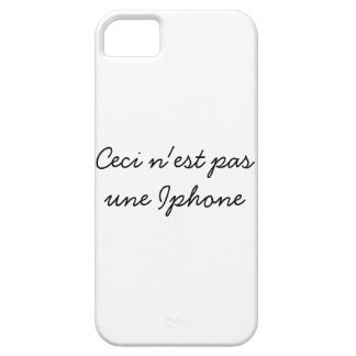 Ceci n'est pas une Iphone Case For The iPhone 5