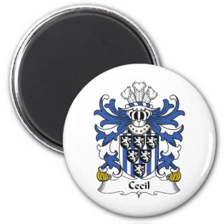 Cecil Family Crest Magnet