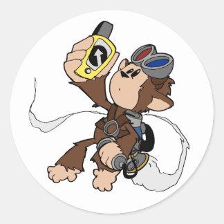 Cecil in Flight- the sticker