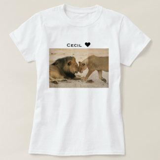 Cecil Show Some Love Lion & Lioness T-Shirt