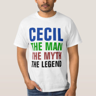 Cecil the man, the myth, the legend T-Shirt