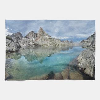 Cecile Lake / Minarets - Ansel Adams Wilderness Towel