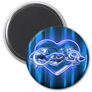 Cecily 2 Inch Round Magnet
