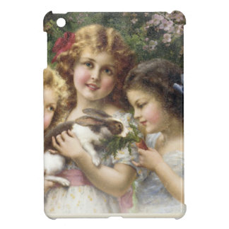 Cecily Vintage Spring Easter Shirt iPad Mini Cover