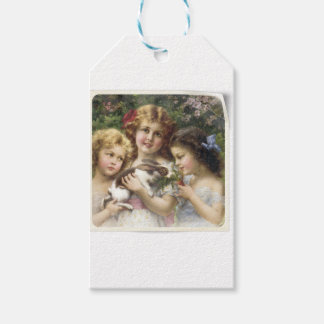 Cecily Vintage Spring Easter Shirt Pack Of Gift Tags