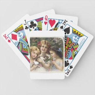 Cecily Vintage Spring Easter Shirt Poker Deck