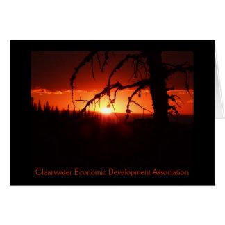 CEDA - Idaho Sunset Card. - Customized Card