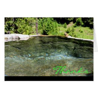 CEDA - Thank You ~ Weir Hot Springs Card