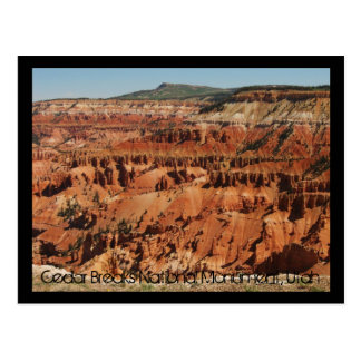 Cedar Breaks National Monument Postcard