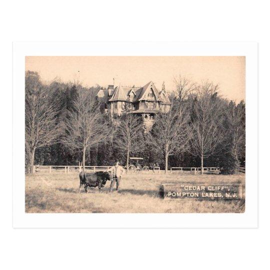 Cedar Cliff, Pompton Lakes, New Jersey Vintage Postcard
