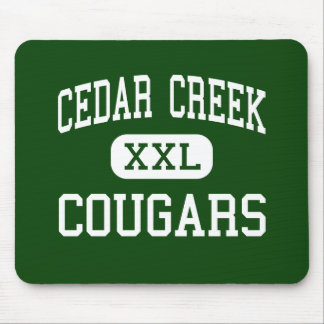 Cedar Creek - Cougars - High - Ruston Louisiana Mouse Pad