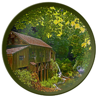 Cedar Creek Grist Mill Plate