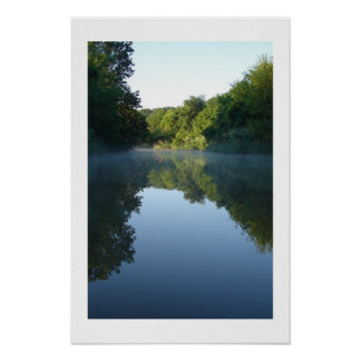 Cedar Creek Stillness-Vertical Poster